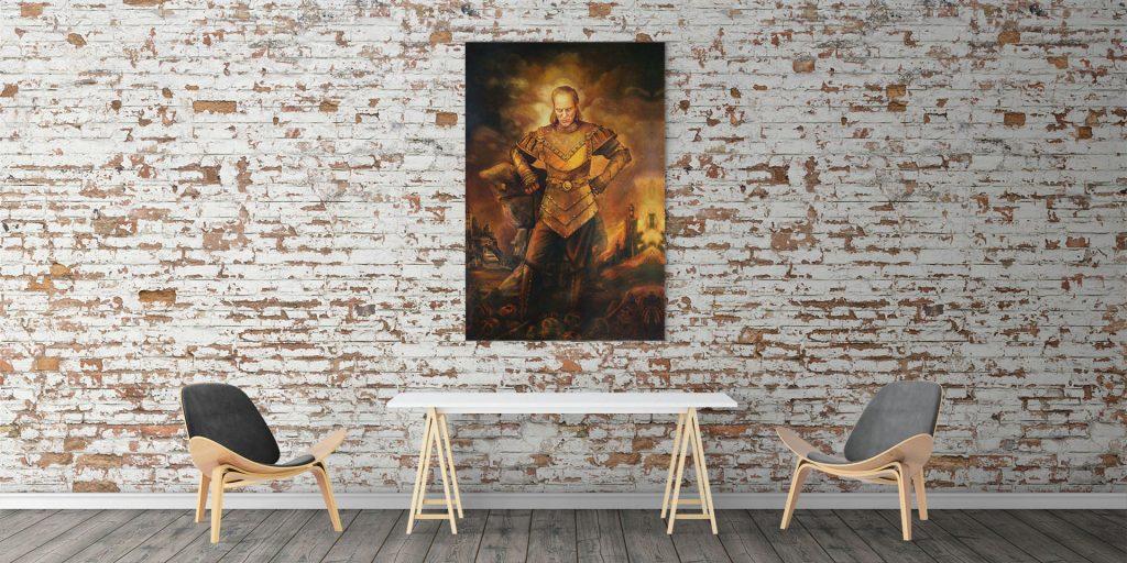 Vigo the Cruel Painting