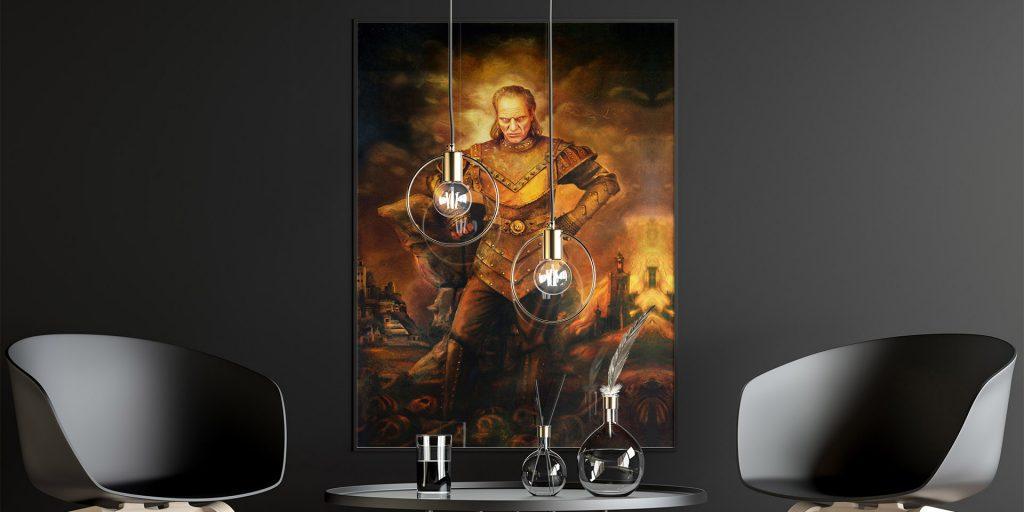 Vigo the Carpathian Painting