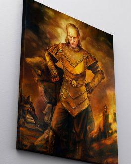 Vigo The Carpathian Replica Canvas Print