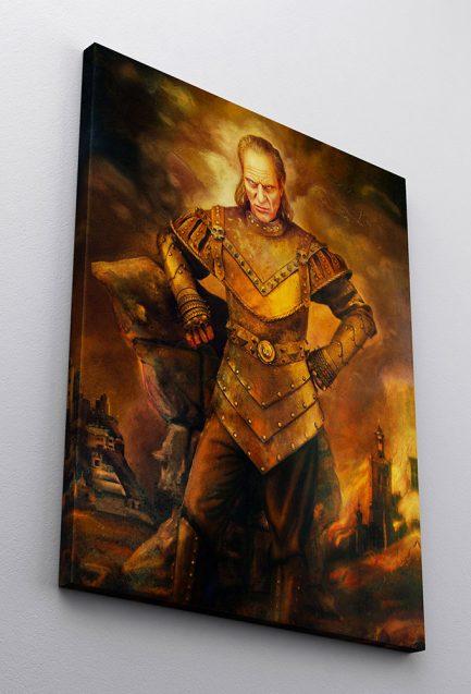 Vigo the Carpathian Framed Painting Replica on Canvas