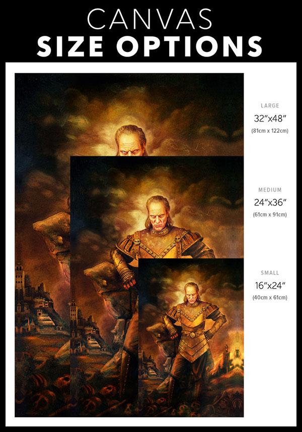Canvas Size Options   VigoTheCarpathian.com